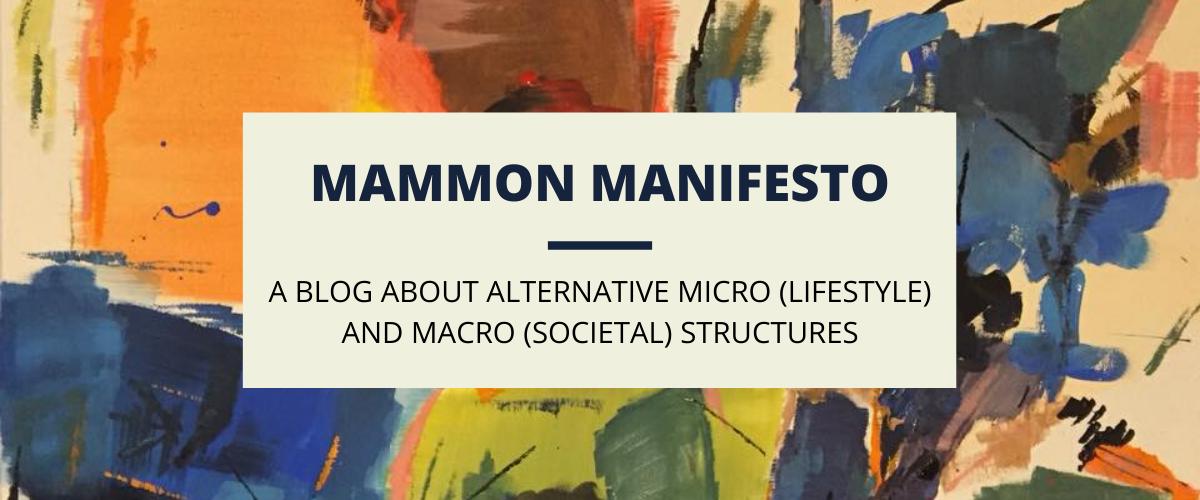 Mammon Manifesto